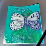 Making A Butterfly Birthday Card