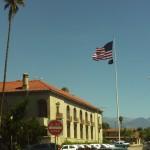 Flag in Redlands