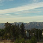 View of The San Bernardino Mountains