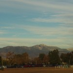 The View Up Towards Big Bear