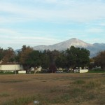 View of the San Gorgonio Mountains In The Distance