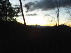 Sunset In The San Bernardino Mount