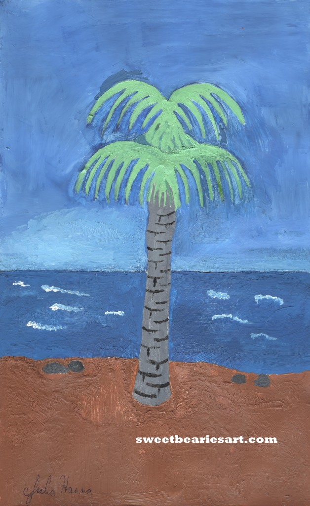 The Palm Tree Painting