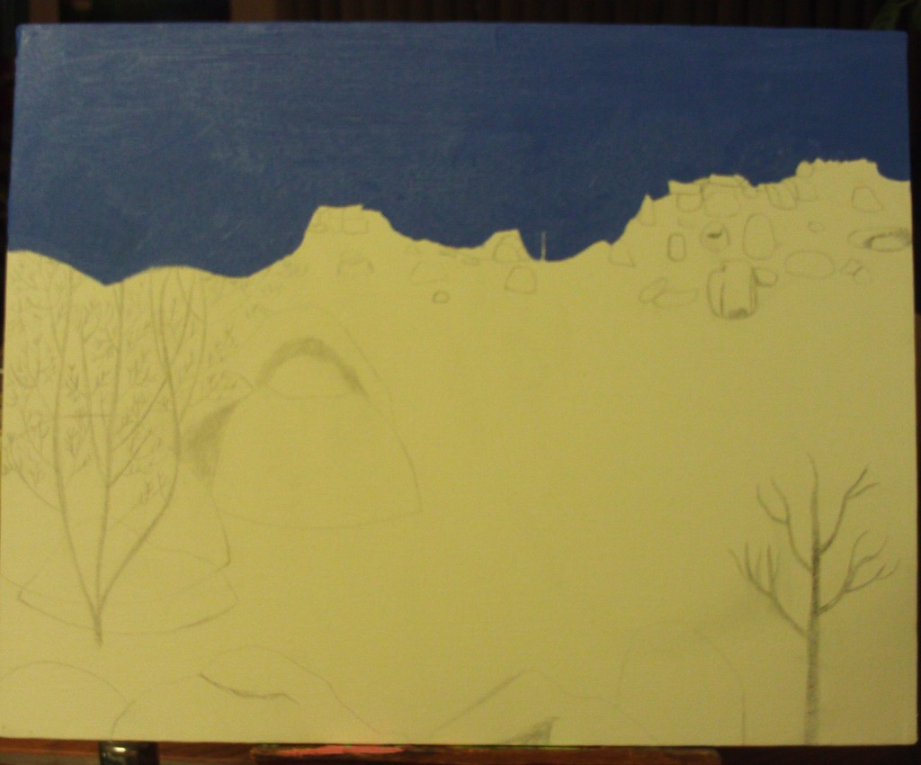 Painting The Pinnacles