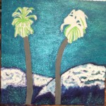 Painting The Palm Trees