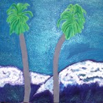Two Palm Trees Painting