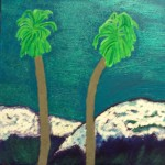 The Two Palm Tree Painting